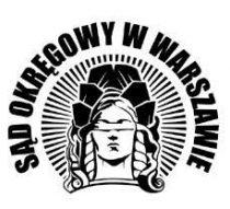Okręgowy Sąd wWarszawie logo